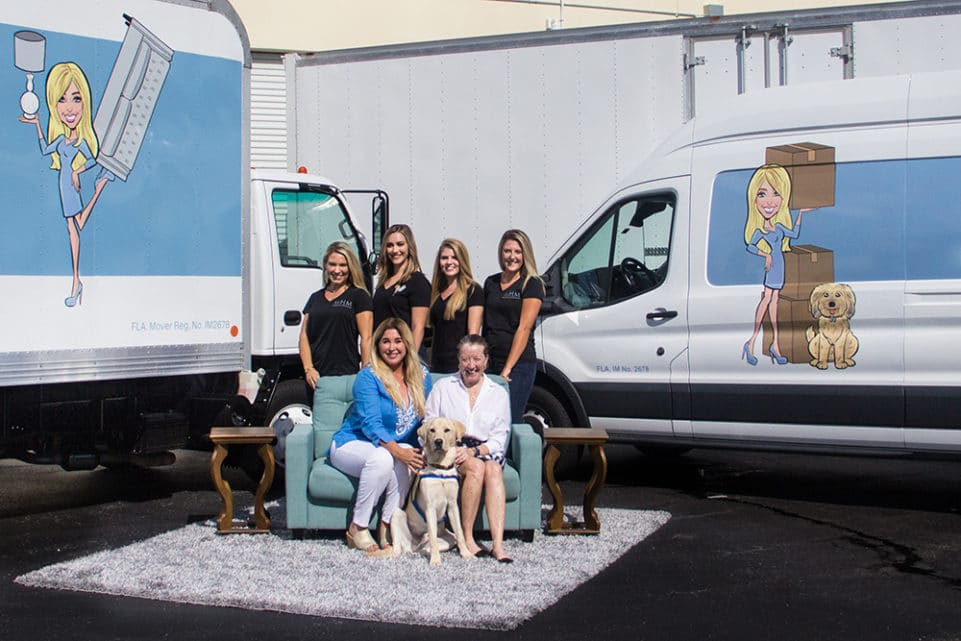 Megan's Moving Teams Up with Canine Companions for Independence
